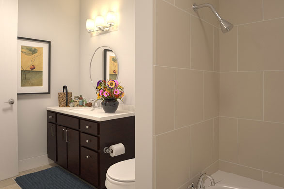 Bathroom at Listing #149059