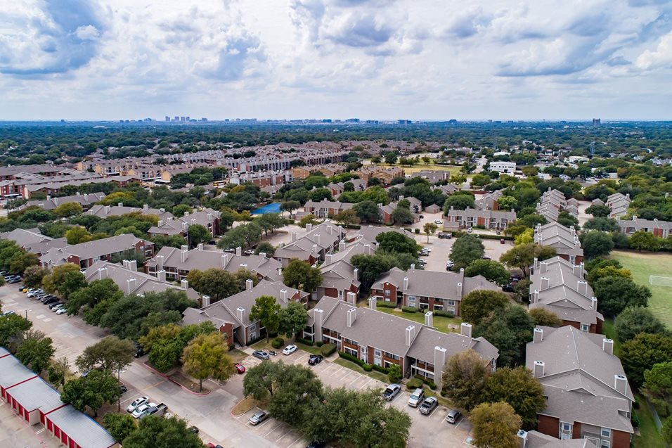 Aerial View at Listing #135627