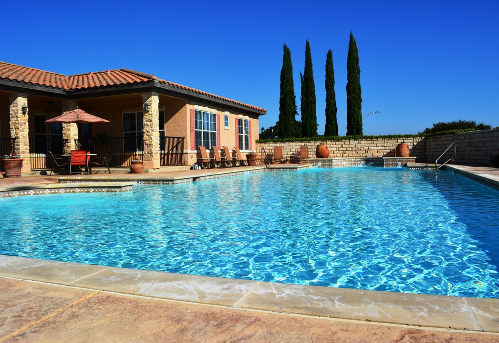 Pool at Listing #144556