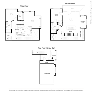 1,726 sq. ft. C1TH floor plan