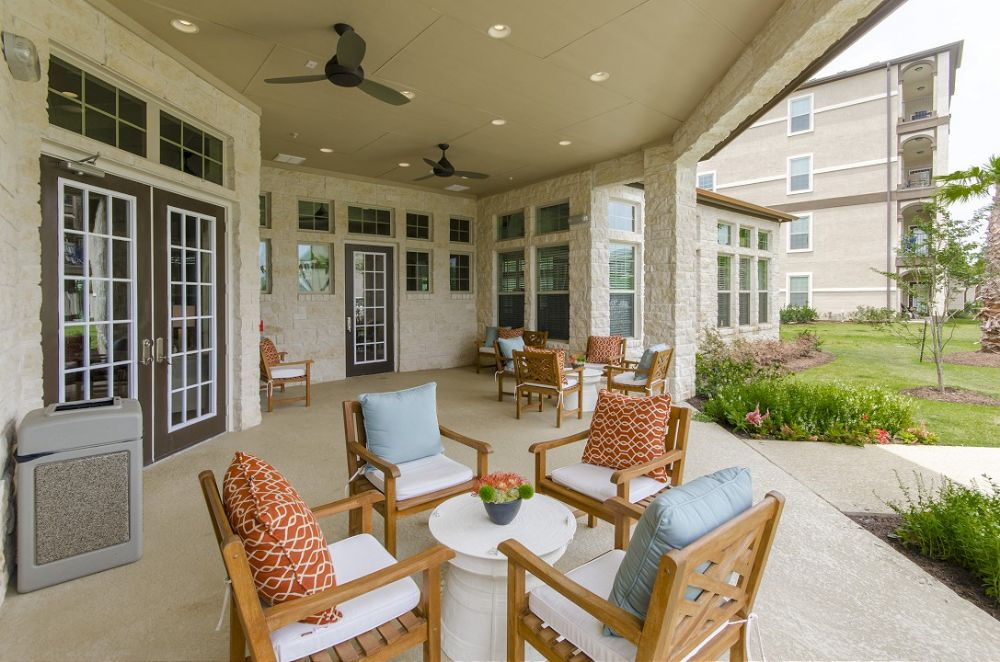 Patio at Listing #264868