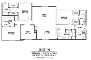 2,131 sq. ft. N floor plan