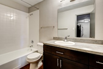 Bathroom at Listing #211445