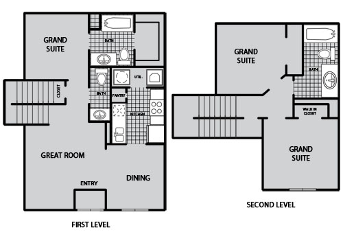 1,149 sq. ft. C1 60% floor plan