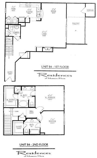 1,552 sq. ft. B4 floor plan