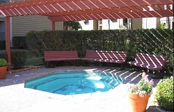 Hot Tub at Listing #138722