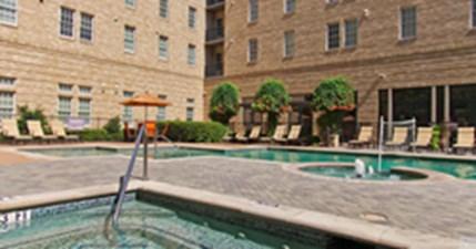 Pool at Listing #144595