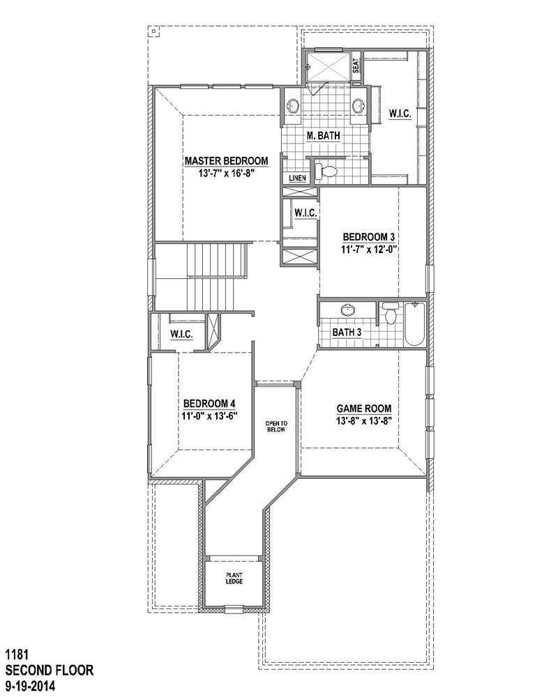 2,790 sq. ft. floor plan