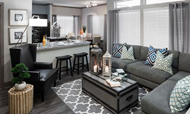Living Area at Listing #140696