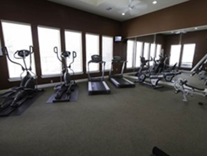 fitness center at Listing #147454