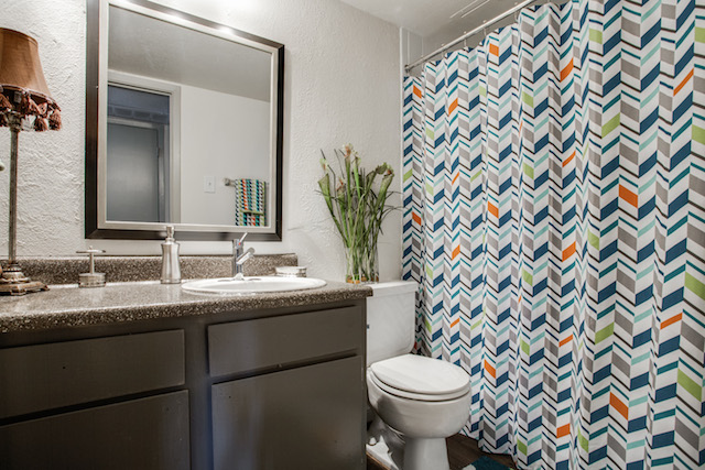 Bathroom at Listing #135658