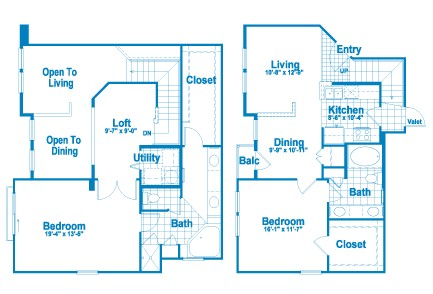 1,506 sq. ft. L2.1 floor plan