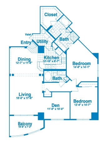 1,653 sq. ft. CT2.2/2A floor plan