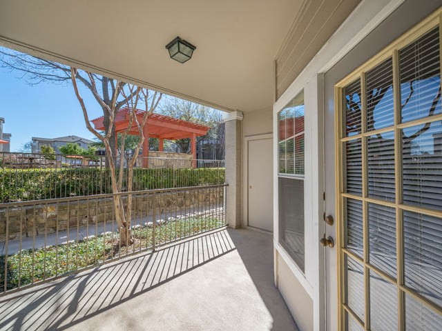 Patio at Listing #138025