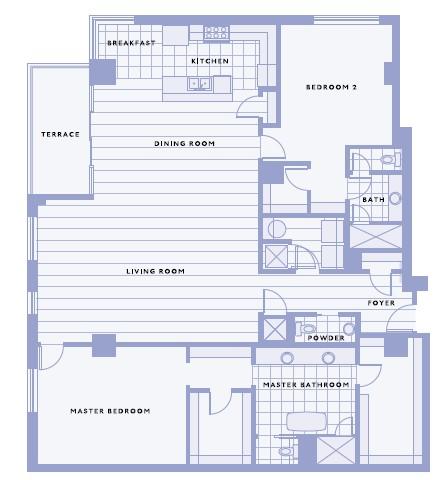 2,223 sq. ft. F floor plan