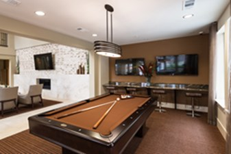 Gameroom at Listing #236592