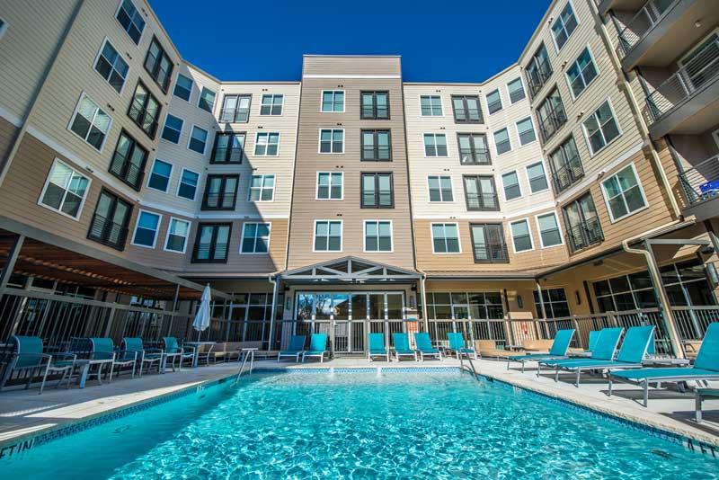 Pool at Listing #225419