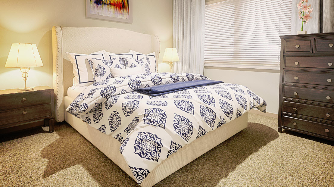 Bedroom at Listing #277764