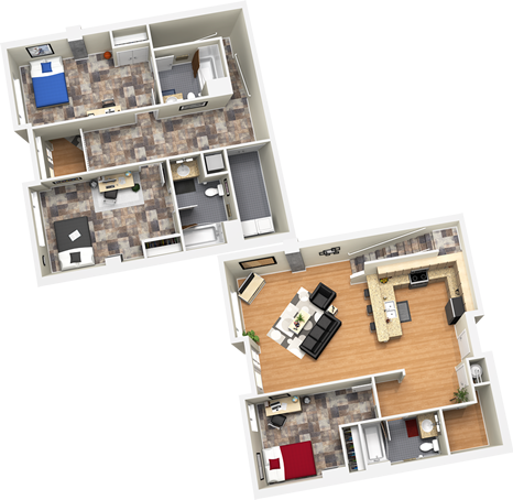 1,975 sq. ft. floor plan