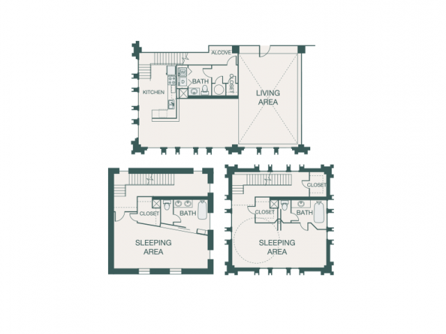 2,578 sq. ft. S floor plan