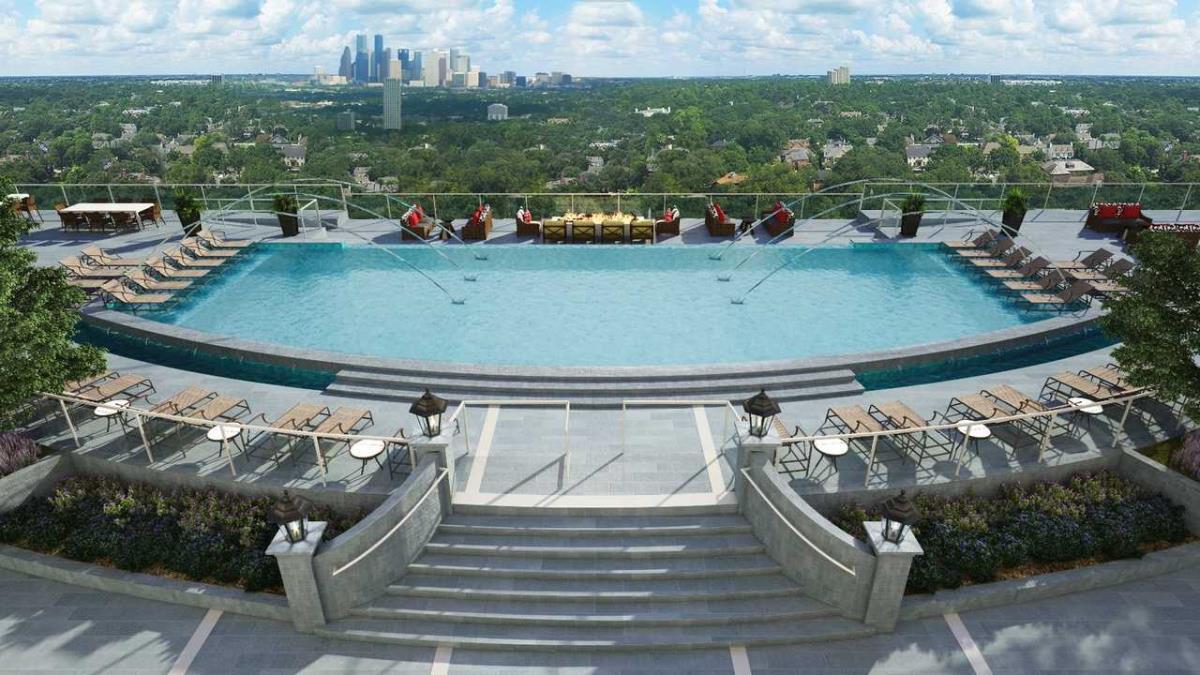 Pool at Listing #293539
