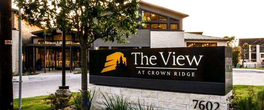 View at Crown Ridge Apartments