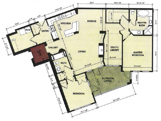1,681 sq. ft. Pedernales floor plan