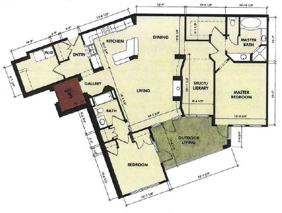 1,681 sq. ft. Pedernales floor plan