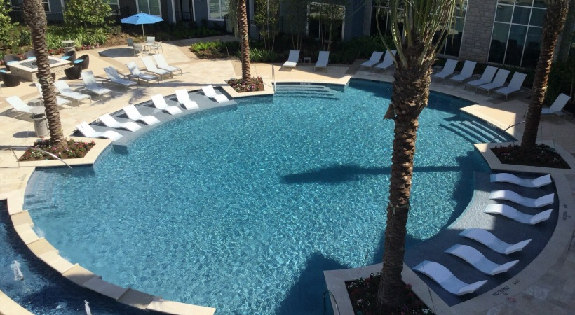 Pool at Listing #266387