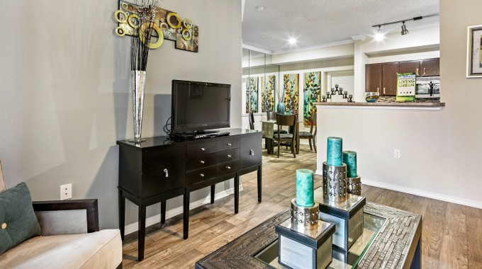 Living/Dining at Listing #137417