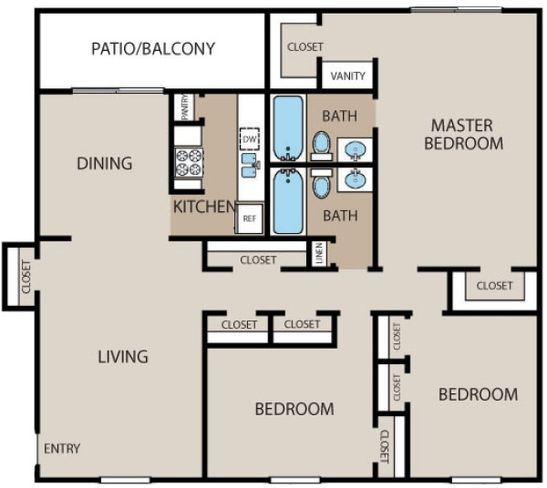 1,514 sq. ft. floor plan
