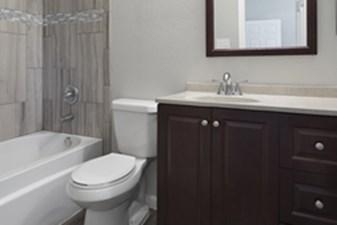 Bathroom at Listing #140289