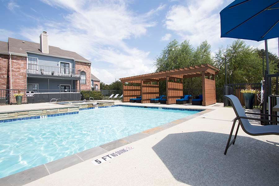 Pool at Listing #135834