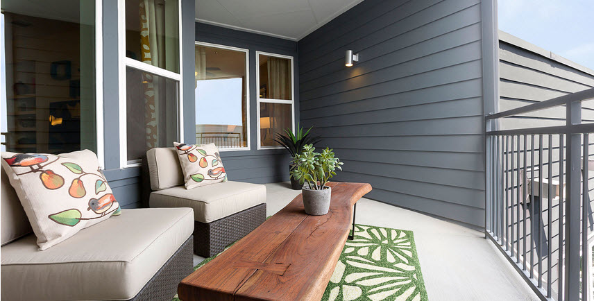 Patio at Listing #253710