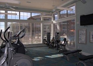Fitness Center at Listing #140807
