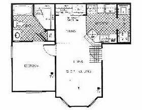 615 sq. ft. Avalon floor plan