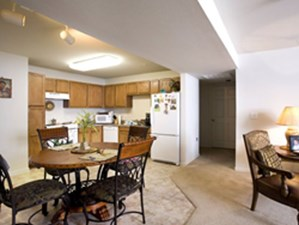 Dining/Kitchen at Listing #147092