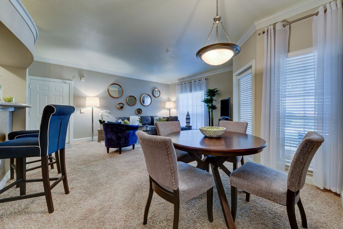 Living/Dining at Listing #141301