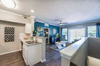 Living/Kitchen at Listing #137763