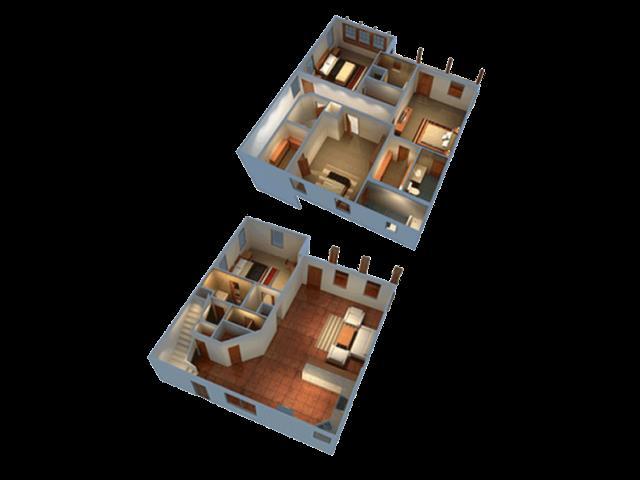 2,400 sq. ft. floor plan