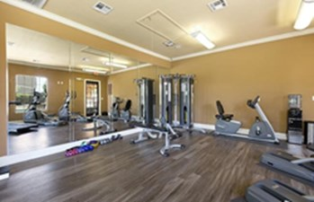 Fitness Center at Listing #146655