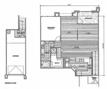 1,079 sq. ft. B1/Mazari floor plan