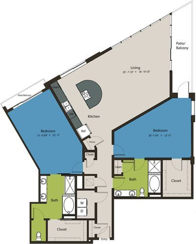 2,237 sq. ft. TSL floor plan