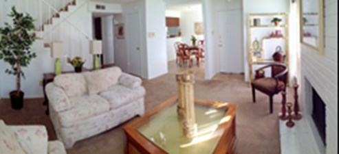 Living/Dining at Listing #137013