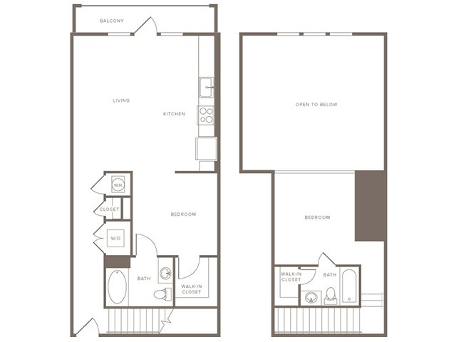 1,041 sq. ft. B7L floor plan