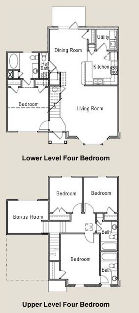 1,799 sq. ft. 60% floor plan