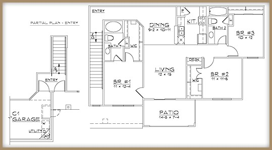 1,320 sq. ft. C2/60% floor plan