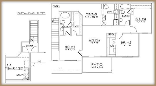 1,320 sq. ft. C2/60% floor plan