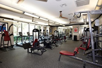 Fitness Center at Listing #139124