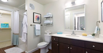 Bathroom at Listing #253710